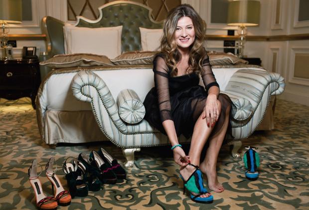 Фото №1 - Жанна Бадоева презентовала свою первую коллекцию туфель