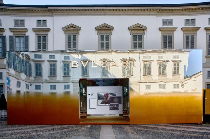Фото №1 - «Метаморфозы» Bvlgari на Миланской неделе дизайна