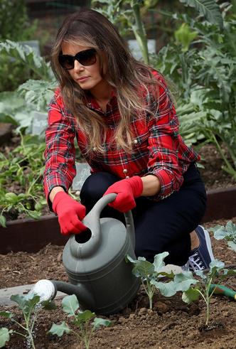 Фото №5 - Первая садовница: 10 юбок как у Мелании Трамп (саженцы в комплект не входят)