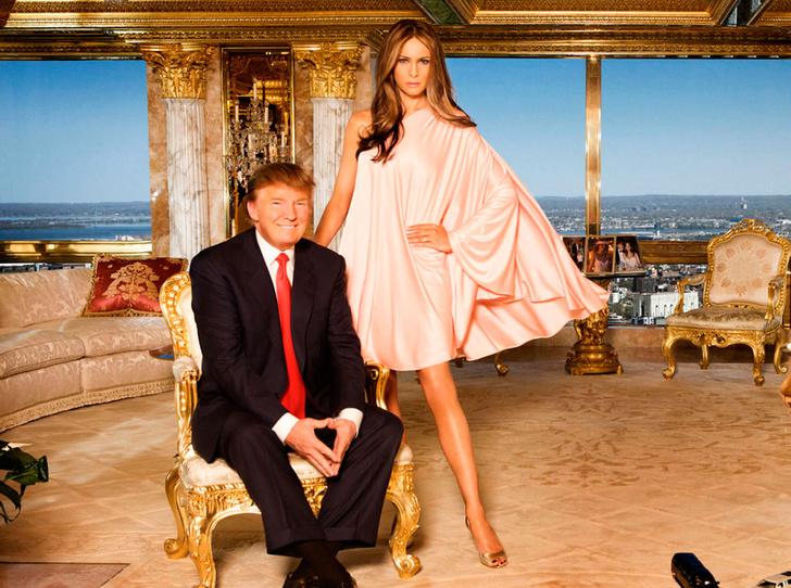 Фото №1 - Белый дом Дональда: кого дразнит Трамп?