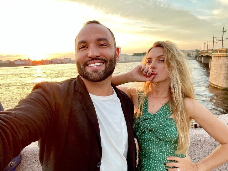 Сердар Камбаров с супругой Анастасией