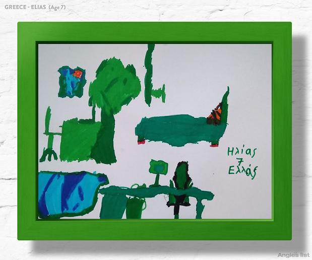 Фото №1 - Комната-мечта: 7 детских, созданных по рисункам малышей