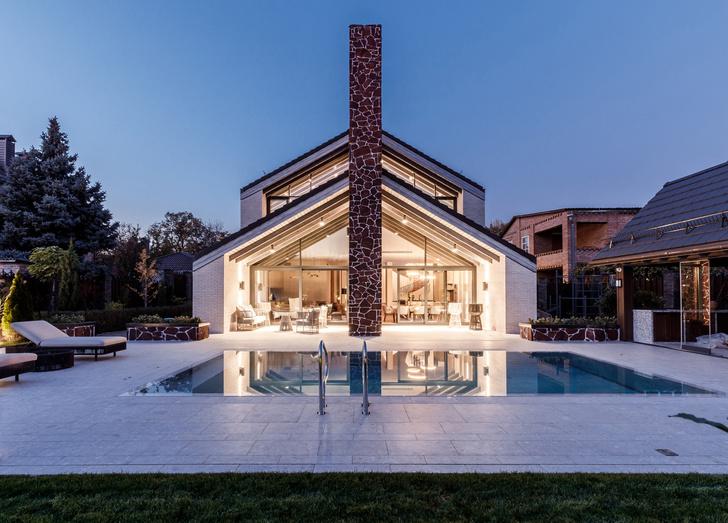 Фото №12 - Светлый дом с бассейном для большой семьи
