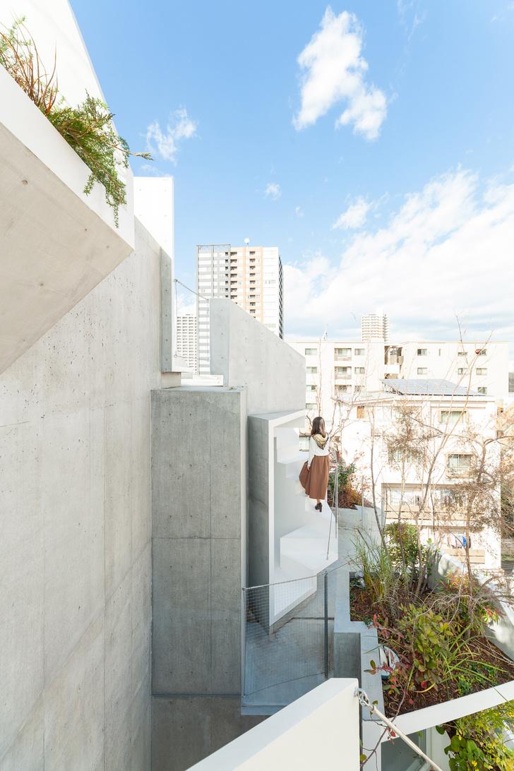 Фото №7 - Бетонные джунгли: дом в Токио