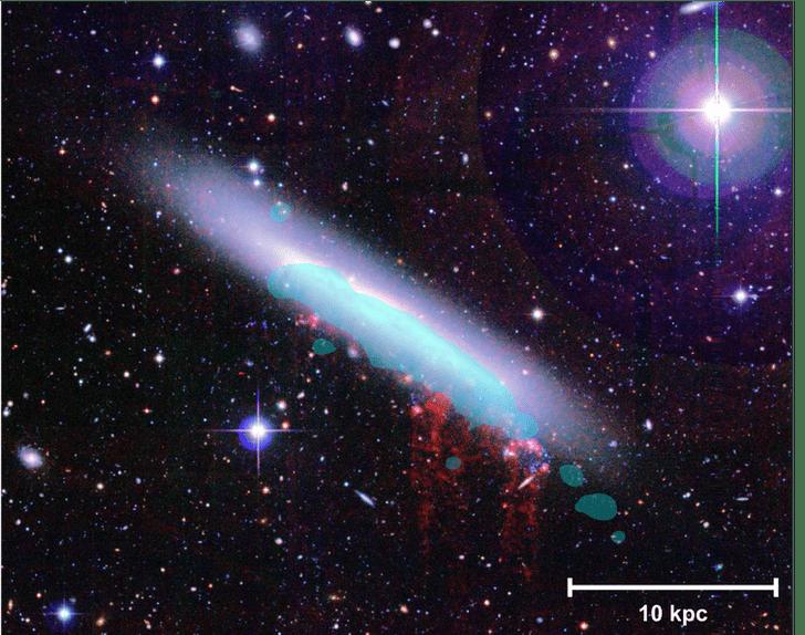 Фото №1 - Ученые рассказали о таинственной гибели галактик