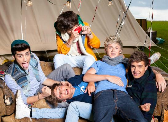 Фото №1 - Группа One Direction сняла новый эпизод для фильма «1D in 3D»