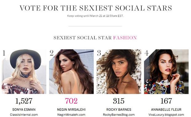Фото №1 - Есьман будет бороться за звание самого сексуального fashion-блогера