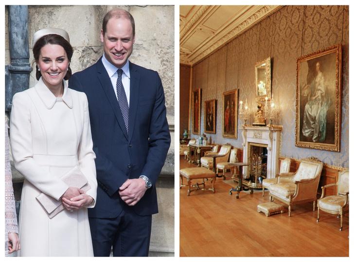 Фото №1 - Королевское жилье: как будет выглядеть новая квартира Кембриджских в Виндзоре