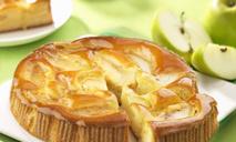Как приготовить бисквит с яблоками в духовке