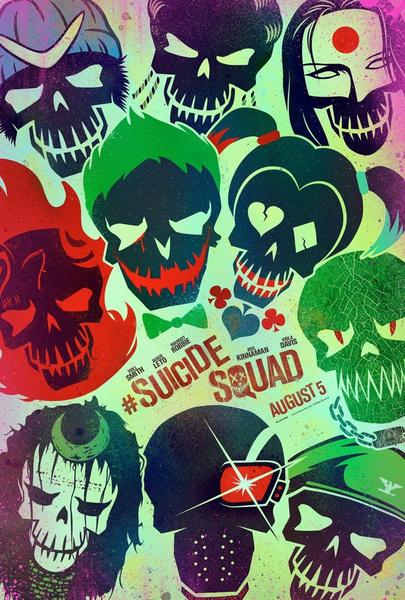 Фото №1 - Вышли характер-постеры к фильму «Отряд самоубийц»