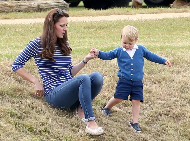 Фото №32 - Принц Джордж Кембриджский: три года в фотографиях