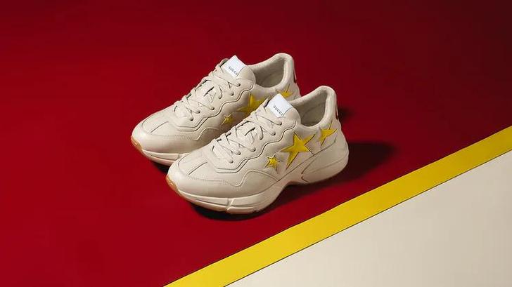 Фото №3 - Gucci представили первые кроссовки, сделанные из деметры. И теперь о них мечтает весь мир