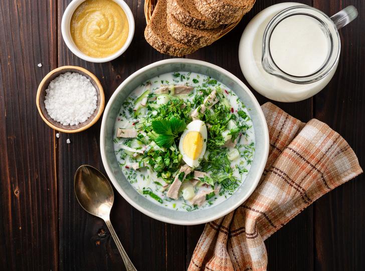 Фото №1 - Самые вкусные летние супы