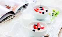 Миндально-кремовый рис с ягодами от Юлии Высоцкой