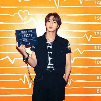 Фото №5 - Наручники-сердечки и тюремная роба: у BTS новая интересная фотосессия 💔