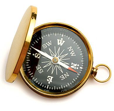Фото №1 - Будет ли работать компас в открытом космосе?