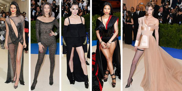 Фото №2 - Рианна, Джиджи, Селена, The Weeknd и другие на Met Gala 2017
