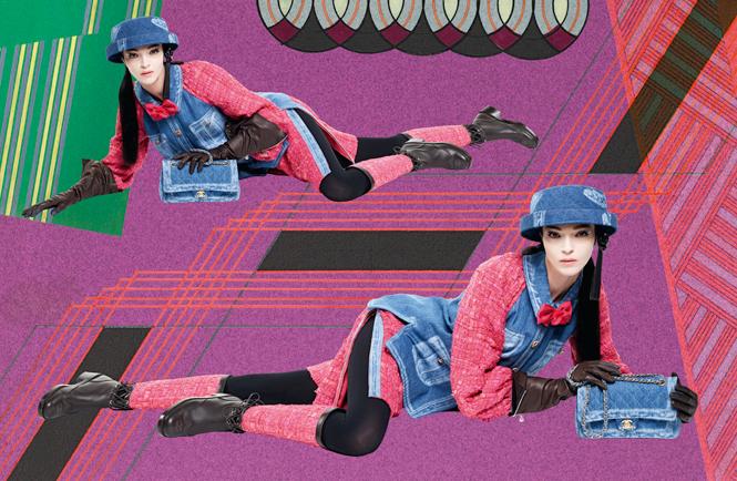 Фото №5 - Коллажи Карла Лагерфельда: креативная кампания Chanel FW 16/17