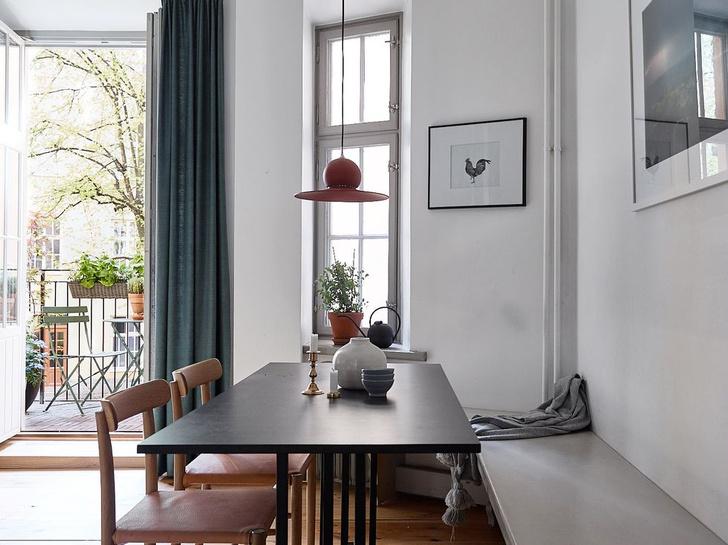 Фото №10 - Квартира в доме начала XX века с печкой в Стокгольме