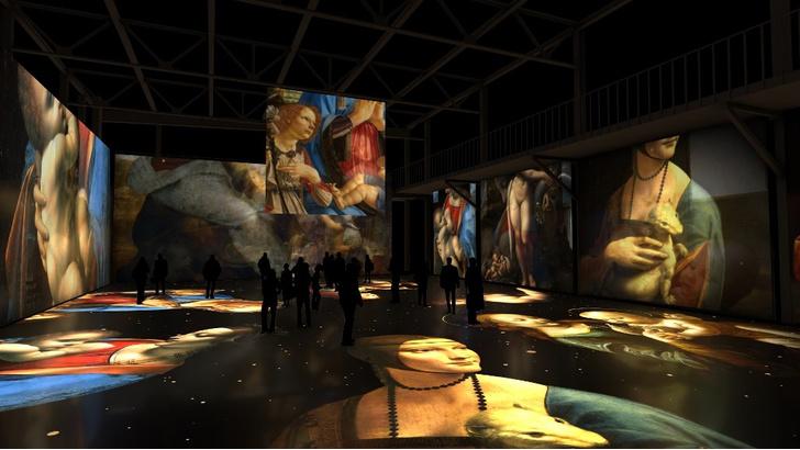 Фото №1 - Мультимедийная выставка «Леонардо да Винчи. Тайна гения»