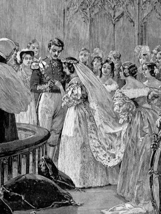 Фото №2 - По стопам Виктории: самая красивая традиция королевских невест прошлого