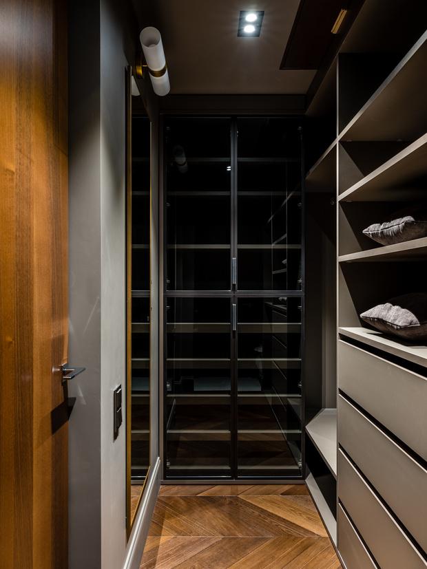 Фото №15 - Интерьер месяца: анфиладная квартира в сталинке 60 м²