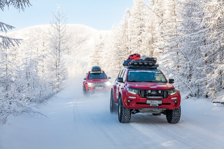 Фото №5 - На автомобилях к Новосибирским островам по Северному Ледовитому океану