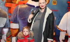 Акиньшина вышла в свет на 9-м месяце беременности