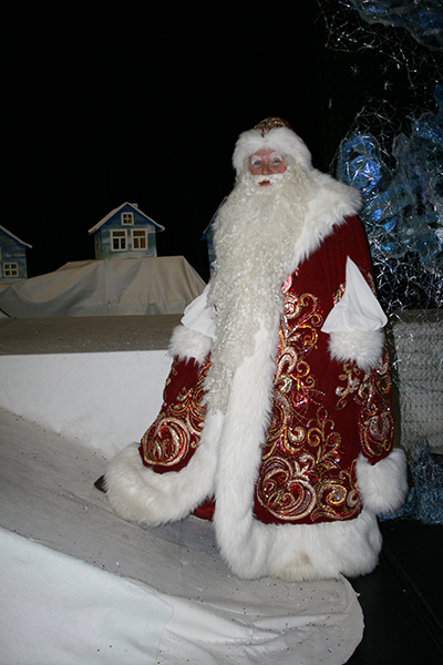 Фото №1 - Главный Дед Мороз Кубани: «Люблю горячий кофе и молоко со льдом»