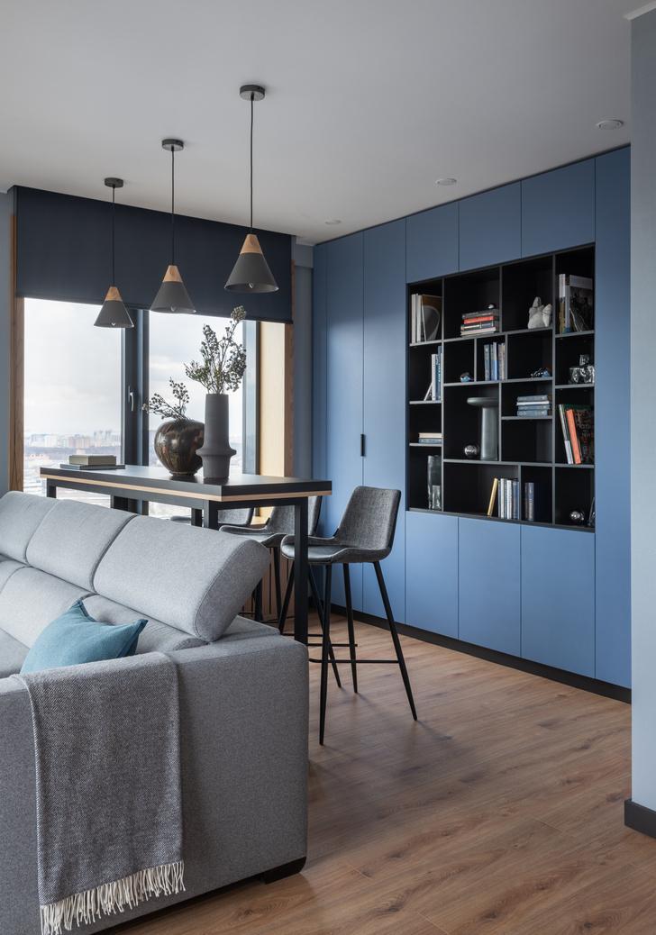 Фото №4 - Современная квартира 82 м² для творческой пары в Москве