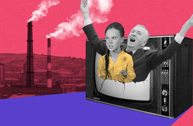 Фото №1 - Тунберг, Шнуров, Пивоваров: кто решил помочь Красноярску с «черным небом»