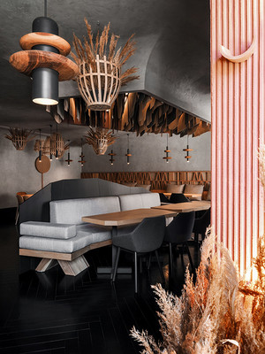 Фото №7 - Ресторан Hunt в Санкт-Петербурге: проект бюро DA