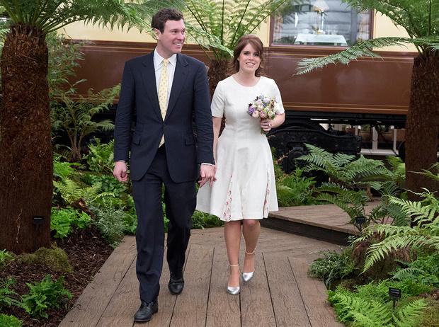 Фото №1 - Принцесса Евгения и Джек Бруксбэнк: 10 вдохновляющих фактов о королевской паре