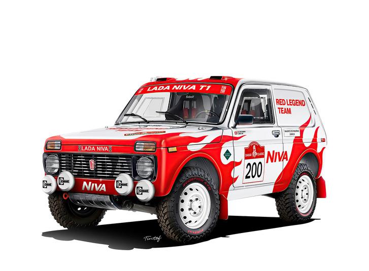 Фото №1 - Красная машина поедет на «Дакаре»