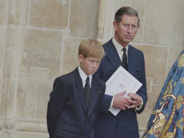 Фото №1 - О чем Гарри просил отца сразу после смерти Дианы (и почему Чарльз ему отказал)