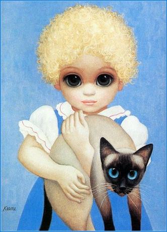 Фото №4 - История одной фотографии: Маргарет Кин доказывает авторство своих картин, 1970 год
