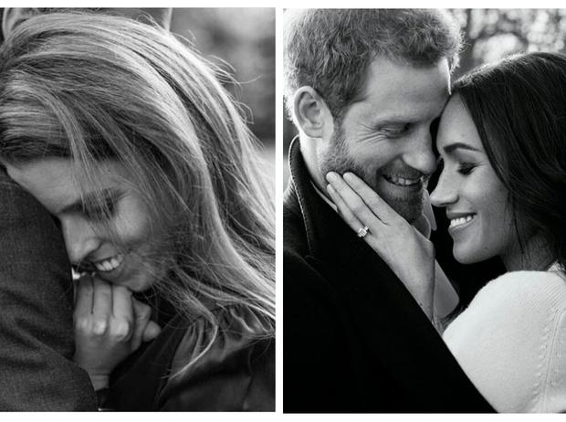Фото №1 - Что общего у помолвочных фотосессий принцессы Беатрис и герцогини Меган