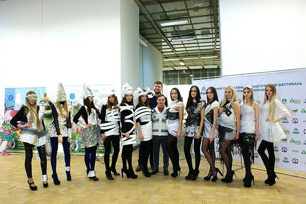 Артур Браже на экологической неделе в Москве