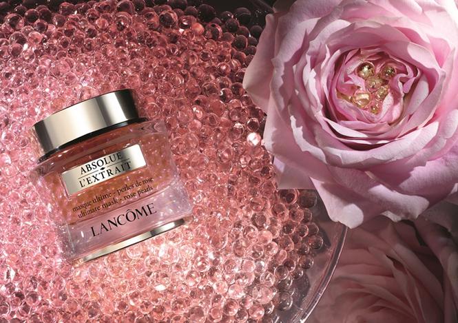 Фото №1 - Красота по-французски: маска-сыворотка с розовыми жемчужинами от Lancome