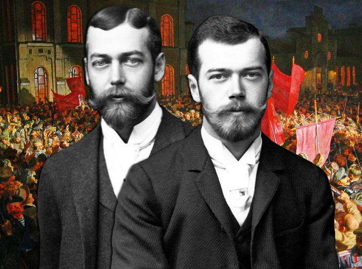 Фото №1 - Спасти царскую семью: почему Георг V отказал в помощи своему кузену Николаю II?