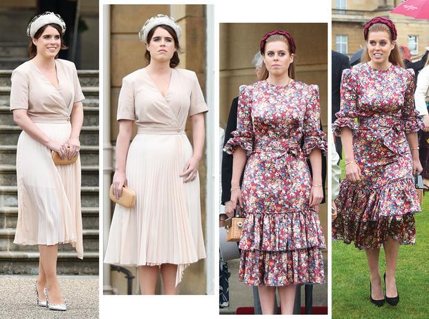 Фото №1 - 10 платьев на лето, как у Беатрис и Евгении на садовой вечеринке Королевы