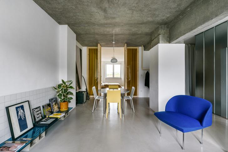 Фото №7 - Бетонная квартира 70 м² в Братиславе
