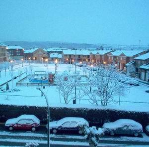 Фото №1 - Испанцев завалило снегом