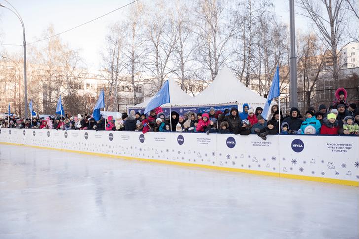 Фото №2 - NIVEA отпразднует юбилей акции «Голосуй за свой каток!» открытием трех ледовых площадок