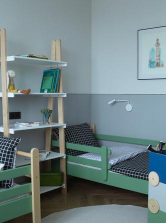 Фото №6 - Охра и олива: современная квартира для дружной семьи в Минске