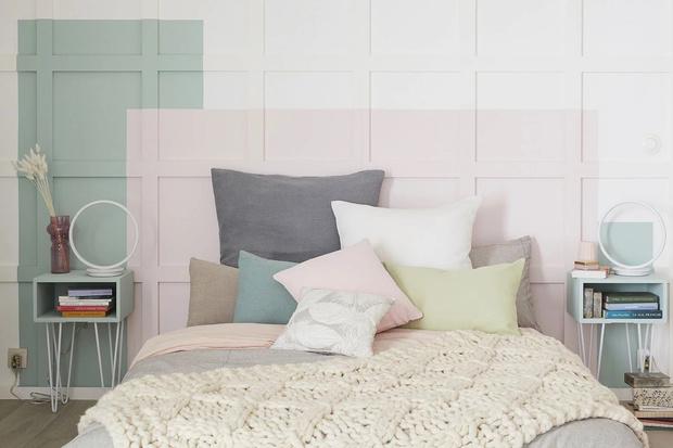 Фото №15 - Цветные сны: Color Blocking в спальне