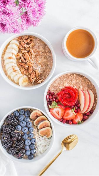 Фото №1 - 5 вкусных и полезных завтраков, которые ты можешь сделать на карантине