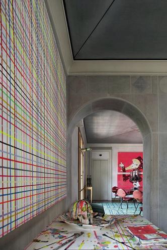 Фото №3 - Богемная квартира галеристки Нины Яшар в Милане