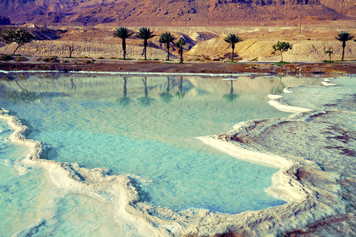Фото №1 - Как и почему «умерло» Мертвое море?