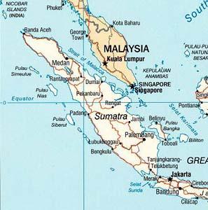 Фото №1 - Суматра снова чувствует подземные толчки